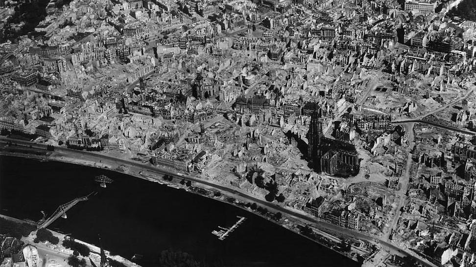 Beitrag: Luftangriffe auf Frankfurt